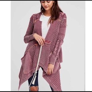 Free People Washed Out Cardigan